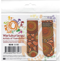 Warlu Magnetic Bookmark Set (2) - Emu Dreaming