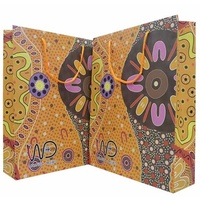 Warrina Aboriginal Art Giftbag (Large) - Women's Business