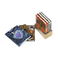 Handmade Aboriginal Art Paper Set (3) Mini Blank Journals
