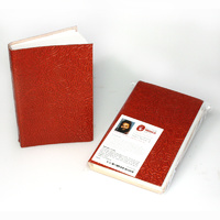 Handmade Paper Notebook (Leather Covered) - Ngarindjerri Country