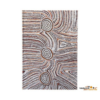 Yarliyil Aboriginal Art Blank A5 Journal - Rockholes