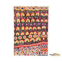 Yarliyil Aboriginal Art Blank A5 Journal - Sand Dunes