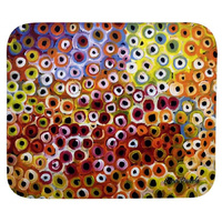 Utopia Aboriginal Art Neoprene Mousepad - Soakage
