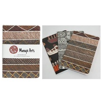 Munupi Aboriginal Art A6 Notepads (set 3)