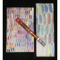 Utopia Aboriginal Art 3pce Notepad Set