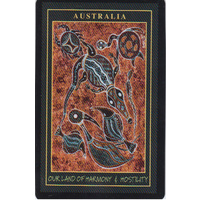 Aboriginal Art Playing Cards with Case - Land of Harmony