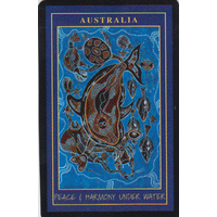 Aboriginal Art Playing Cards with Case - Peace & Harmony