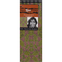 Yijan Aboriginal Art Slim Notebook - Women Travel Dreaming (Green)