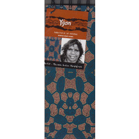 Yijan Aboriginal Art Slim Notebook - Women Travel Dreaming (Slate)