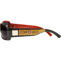 Aboriginal Art Sunglasses - Echidna Tracks