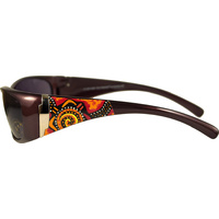 Aboriginal Art Sunglasses - Desert Journey