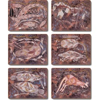 Yijan Aboriginal Art Coaster Set (6) - Injalak