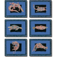 Yijan Aboriginal Art Boxed Coaster Set (6) - Rock Art
