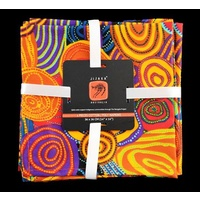 Jijaka Aboriginal Art Napkin Set (4) - Firestones