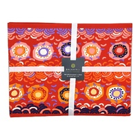 Balarinji Aboriginal Cotton Placemat Set (4) - Desert Sun