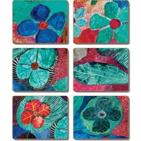 Yijan Aboriginal Art Cork Placemat/Coaster Set (6) - Dreaming Stories