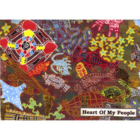 Bulurru Tablecloth (Large) - Heart of My People