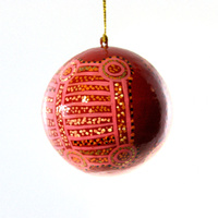 BWA Lacquered Xmas Ball Decoration - Water Dreaming
