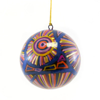 BWA Lacquered Xmas Ball Decoration - Water Dreaming 2