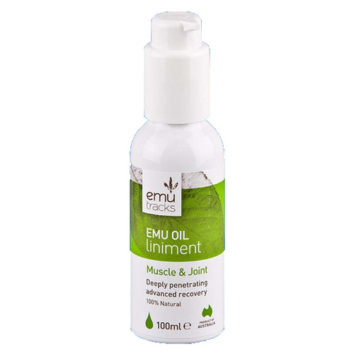 Emu Tracks Emu Oil Musle & Joint Liniment [Size: 100ml]