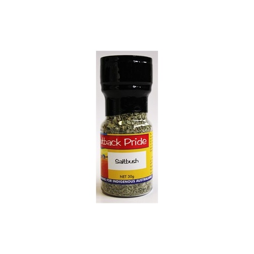 Outback Pride dried Saltbush Flakes (30g) - Native Herb
