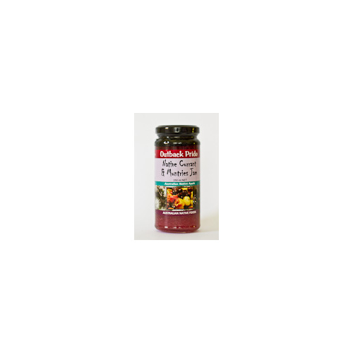 Outback Pride Native Currant & Muntries Native Jam 250g