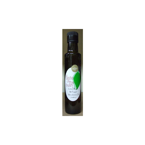 Lemon Myrtle Mtn Pepper Macadamia Oil 250mls