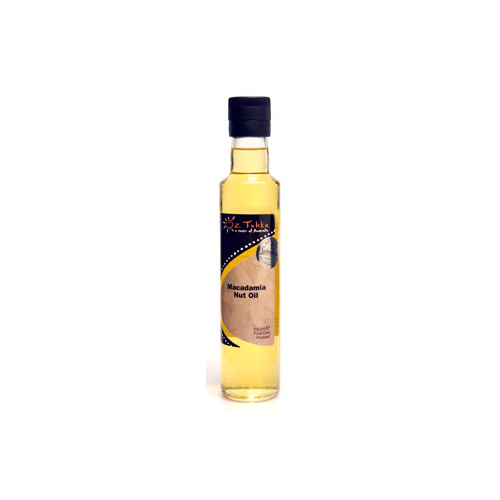 Oz Tukka Macadamia Nut Oil 250mls