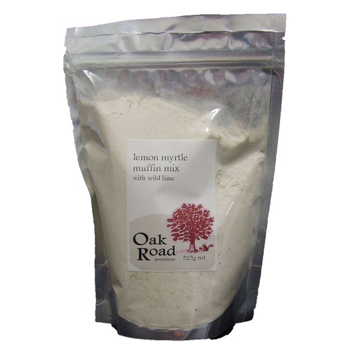 Oak Road Lemon Myrtle Wild Lime Muffin Mix (500g)