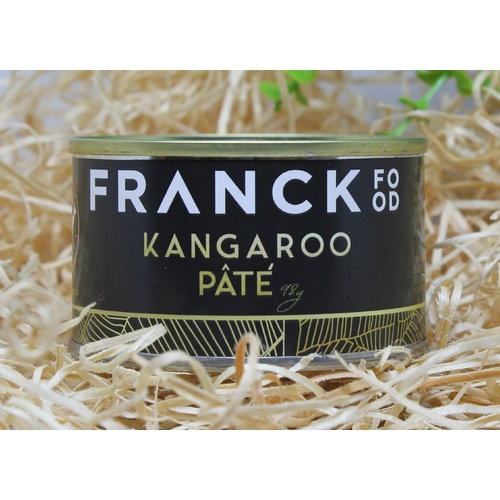 Franck Food Kangaroo Pate with Black Mushroom 110g