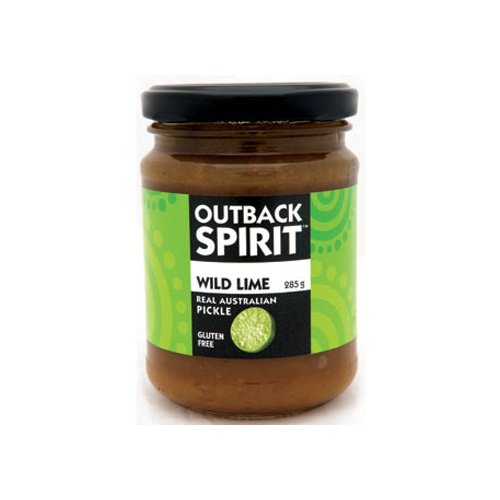 Outback Spirit Wild Lime Pickle 285g
