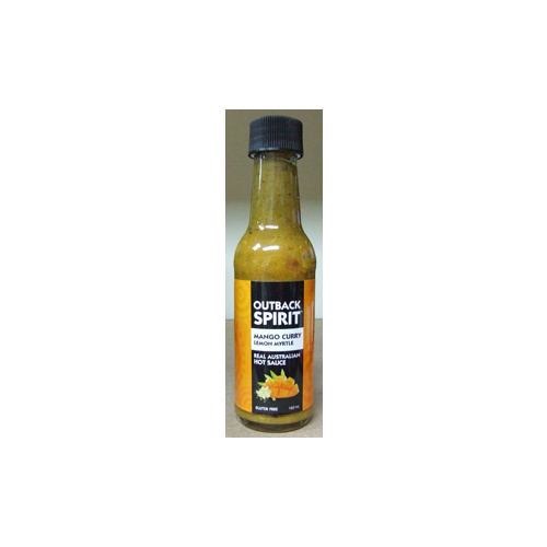 Outback Spirit Mango Curry Lemon Myrtle Hot Sauce (160g)