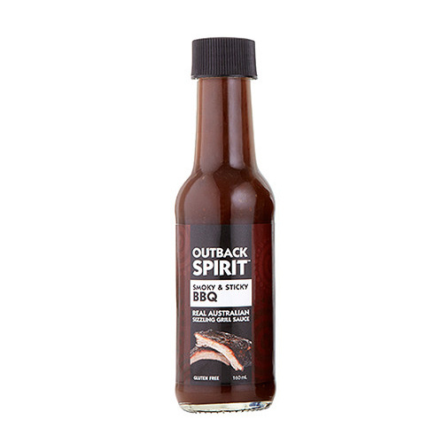 Outback Spirit Smoky & Sticky BBQ Sauce 160mls