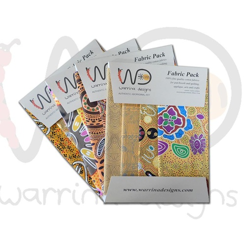 Fabric Pack [Yellow] - Aboriginal Design Fabric