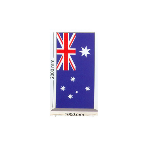 Australian National Flag Pull Up Banner [Size: Standard Base]