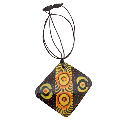 Iwantja Arts Pendant - Rene Sundown