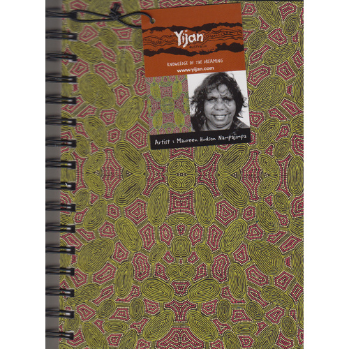 Yijan A5 Ruled Notebook - Women Travel Dreaming [Colour: Green]