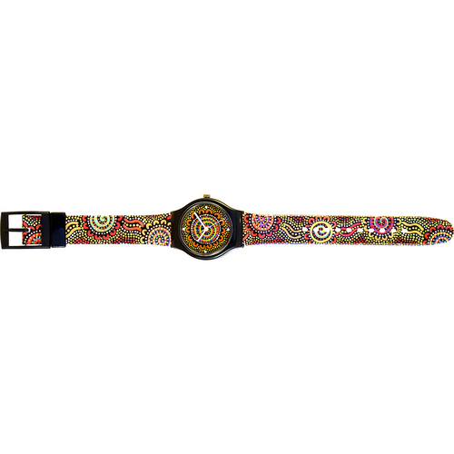Aboriginal design Watch - Camp Connections