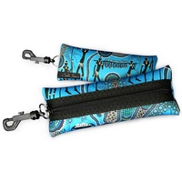 Bunabiri Aboriginal Art Neoprene Eyewear Case - Hunters & Gatherers Reef