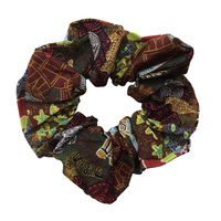 Bulurru Aboriginal Art Hair Scrunchy - Heart of My People