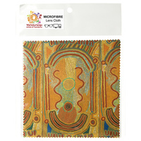 Warlukurlangu Aboriginal Art Microfibre Lens Cloth - Women Dreaming