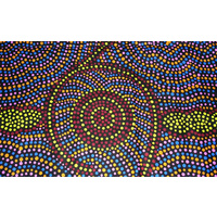 Handmade Aboriginal Design Cool Neck Ties - Dots