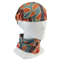 Jijaka Aboriginal Art Multi-Headscarf - Tea Tree