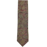 Yijan Aboriginal Art Polyester Tie - Travel Dream (Brown)