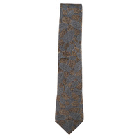 Yijan Aboriginal Art Polyester Tie - Travel Dream (Stone)