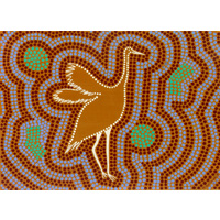 DKA Giftcard - Brolga the beautiful dancing bird