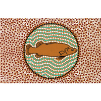 DKA Postcard - Gudhu the Murray Cod