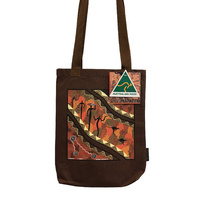 Bulurru Aboriginal Art Australia Made Carry Bag - Songlines