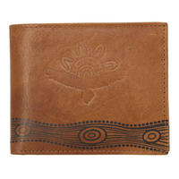 Diwana Dreaming Premium Buff Leather Men's Wallet (11cm X 9cm) - Bunjil