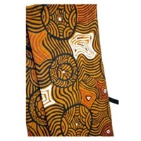Jukurrpa Aboriginal design Didgeridoo Cotton Canvas Carry Bag (1.5M)